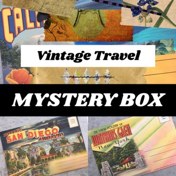 Vintage Other - Vintage Travel Photo Postcard Mystery Box